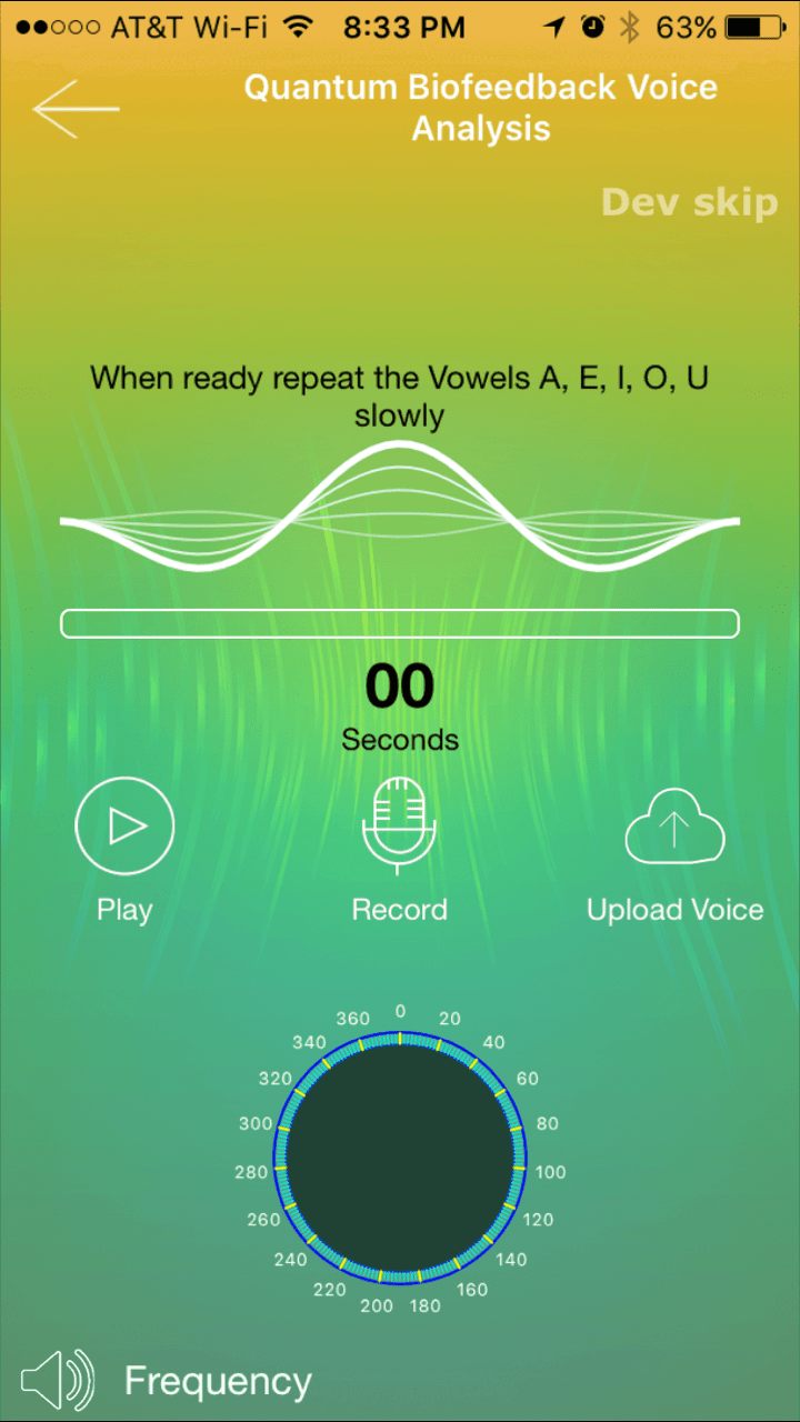 Voice Analysis App