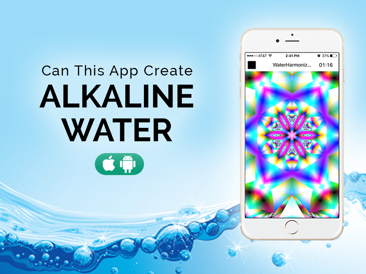 Can this app create alkaline water?